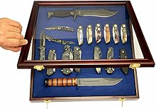 DECOMIL - Pocket Knife Display Case Cabinet Shadow