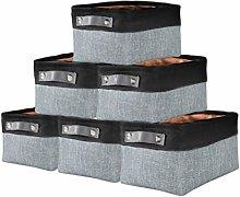 DECOMOMO Foldable Storage Bin Collapsible Sturdy