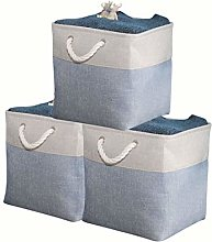 DECOMOMO Foldable Storage Bin Collapsible Sturdy