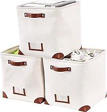 DECOMOMO Foldable Storage Bin W/ Label Holders  
