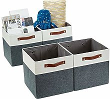 DECOMOMO Foldable Storage Cubes [4-Pack]