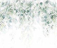 decomonkey | Photo Wallpaper Green Leaves | 250 x