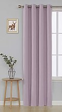 Deconovo Blackout Curtain Eyelets for Living Room