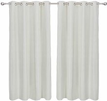 Deconovo Blackout Curtain Eyelets Living Room
