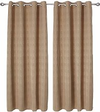 Deconovo Blackout Curtain Eyelets Thermal Curtain