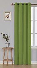 Deconovo Blackout Curtain Eyelets Thermal Curtain