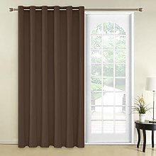 Deconovo Curtain for Door 79 x 106 Inch Blackout