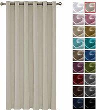 Deconovo Curtain for Door 82 x 106 Inch Blackout