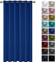 Deconovo Curtain for Room Divider 78x114 Inch Room