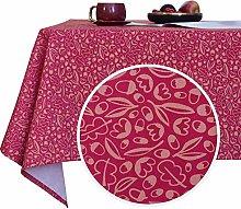 Deconovo Designer Series 54x72 Inch Tablecloth