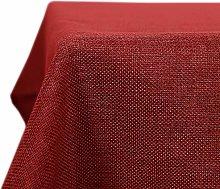 Deconovo Fabric Table Cloth Rectangle Water