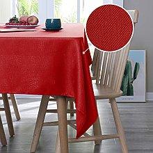 Deconovo Faux Linen Table Covers Rectangle Table