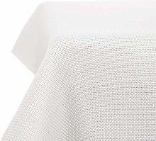 Deconovo Faux Linen Tablecloth Rectangle Water