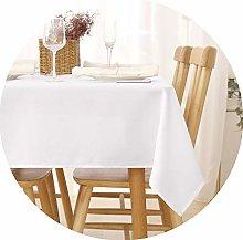 Deconovo Faux Linen Water Resistant Tablecloth