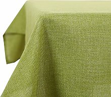 Deconovo Faux Linen Wipeable Tablecloth Rectangle