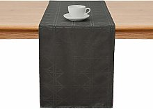 Deconovo Jacquard Damask Table Runner with