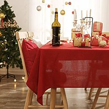 Deconovo Large Water Resistant Tablecloth