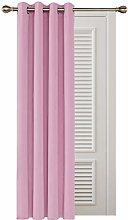 Deconovo Nursery Curtain Short Curtain Thermal