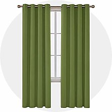 Deconovo Opaque Blackout Curtain with Eyelets 229