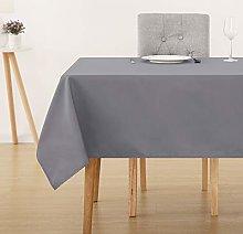 Deconovo Oxford Decorative Tablecloth Wipeable