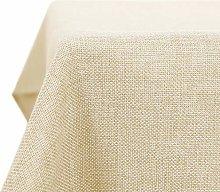 Deconovo Rectangle Faux Linen Water Resistant