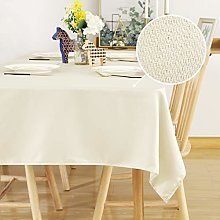 Deconovo Rectangle Table Cloth Wipeable Tablecloth