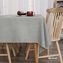Deconovo Rectangular Table Cloth Water Resistant