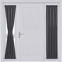 Deconovo Rod Pocket Door Panel Curtain Thermal