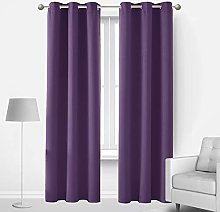 Deconovo Room Darkening Blackout Curtain for