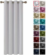 Deconovo Solid Thermal Insulated Blackout Curtain