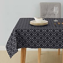 Deconovo Tablecloth Water Resistant Table Cloth