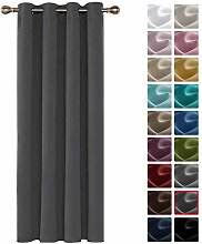 Deconovo Thermal Insulated Blackout Curtain