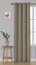 Deconovo Thermal Insulated Window Treatment Room