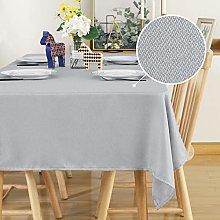 Deconovo Water Resistant Tablecloth Rectangular