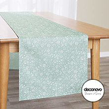 Deconovo Water Resistant Tablecloth with Sketch