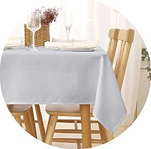 Deconovo Wipeable Tablecloth Rectangle Tablecloth
