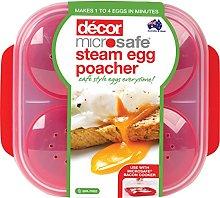 Décor Microsafe Egg Poacher| BPA Free |Microwave
