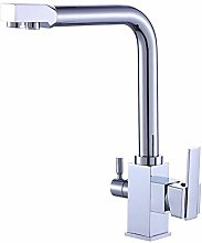 Decoration All Copper Kitchen Faucet hot and Cold