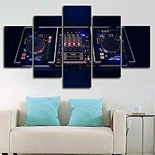 Decoration Dj Controller Blender Music 5 Canvas