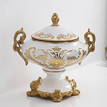 Decorative Amphora with Handles Adel Potiche