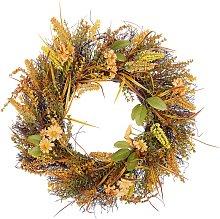 Decorative Artificial Flower Door Wreath ø 50 cm