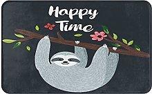 Decorative Bathroom Floor Rug,Happy Time Design