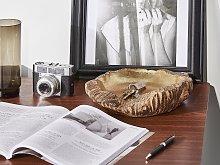 Decorative Bowl Gold Accent Home Decor Accessory