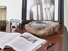 Decorative Bowl Gold and Silver Accent Home Decor