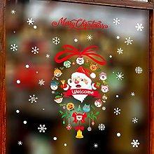 Decorative Christmas Stickers Arrange Christmas