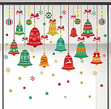 Decorative Christmas Stickers Christmas Color Bells