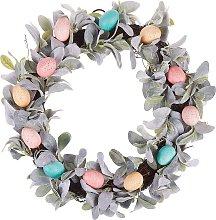 Decorative Easter Door Wreath ø 50 cm Wall Décor