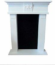 Decorative Fireplace Antique White