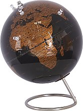Decorative Globe 29 cm Black and Copper with
