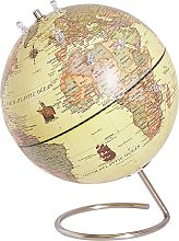 Decorative Globe 29 cm Yellow with Magnets CARTIER